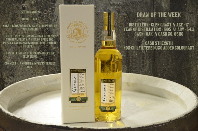 Dram of the Week - Glen Grant